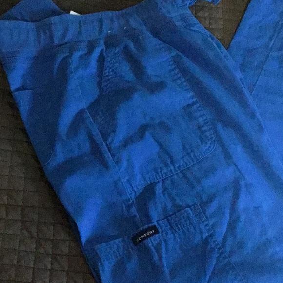 KOI Comfort fit TALL Cargo Scrub Pants